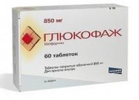 глюкофаж: инструкция по применению